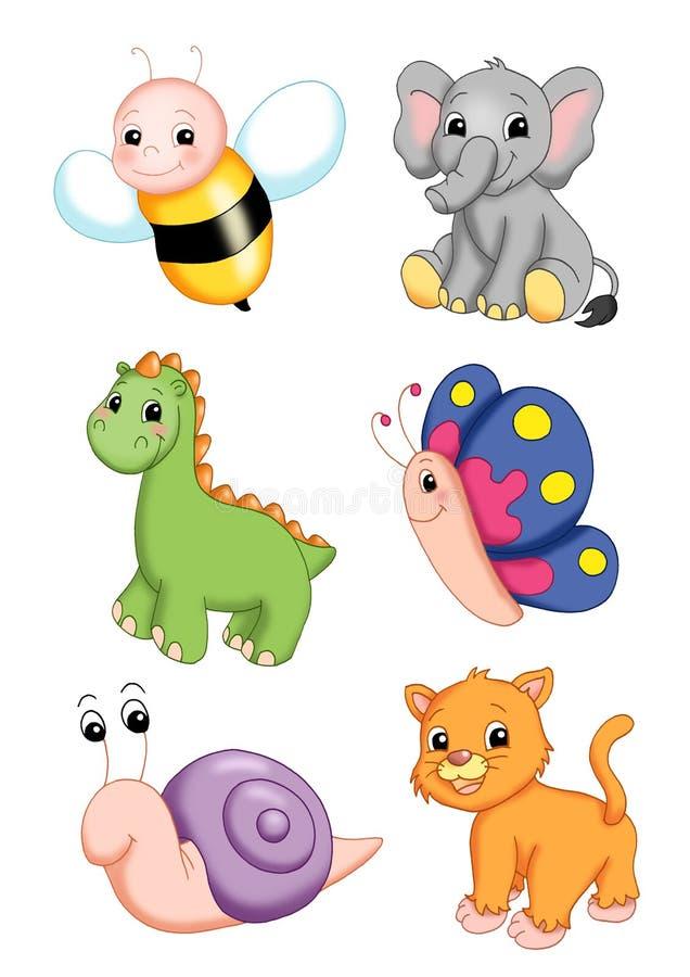 Série d'animaux 2 illustration de vecteur