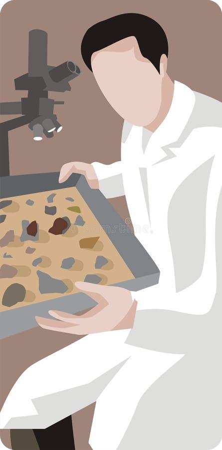 Série d'illustration d'archéologie illustration stock