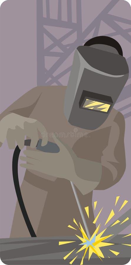 Download Série D'illustration D'ouvrier Illustration Stock - Illustration du fabriquez, mâle: 2148543