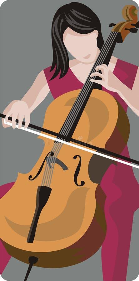Série d'illustration de musicien illustration de vecteur
