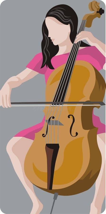 Série d'illustration de musicien illustration libre de droits