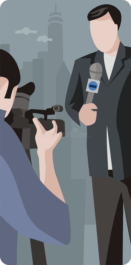 Série d'illustration de profession illustration de vecteur