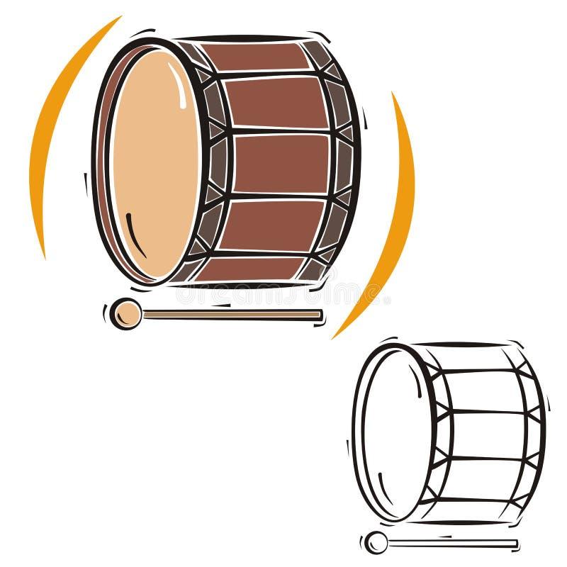 Série d'instrument de musique illustration de vecteur