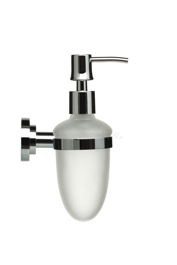 Série d'objet de salle de bains - distributeur de savon liquide photos stock
