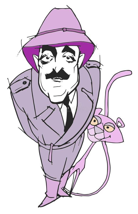 Série da caricatura: Peter Sellers ilustração do vetor