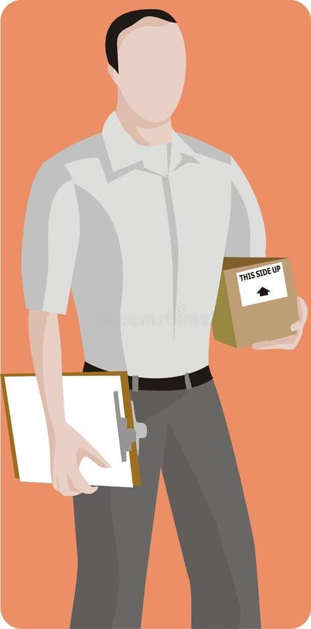 Série da ilustração da profissão ilustração stock