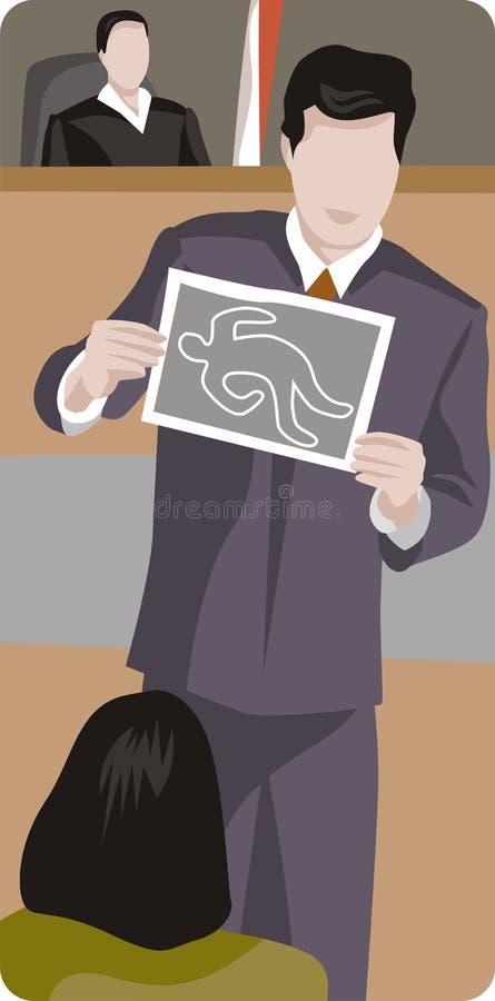 Série da ilustração da profissão ilustração royalty free