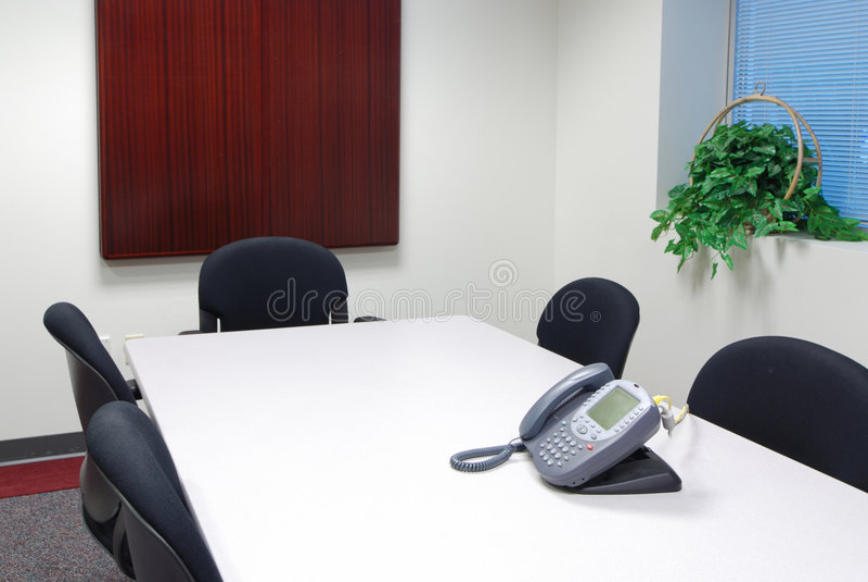 Série da sala de conferências imagens de stock royalty free