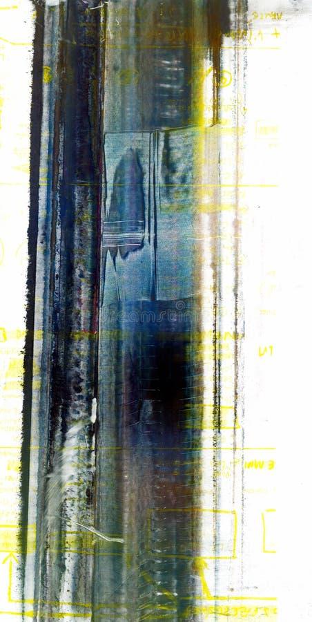 Série da textura da pintura dos pós ilustração royalty free