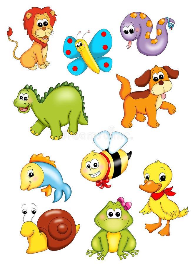 Série de animais ilustração stock