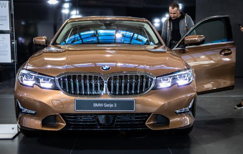 Série 3 de BMW photos stock
