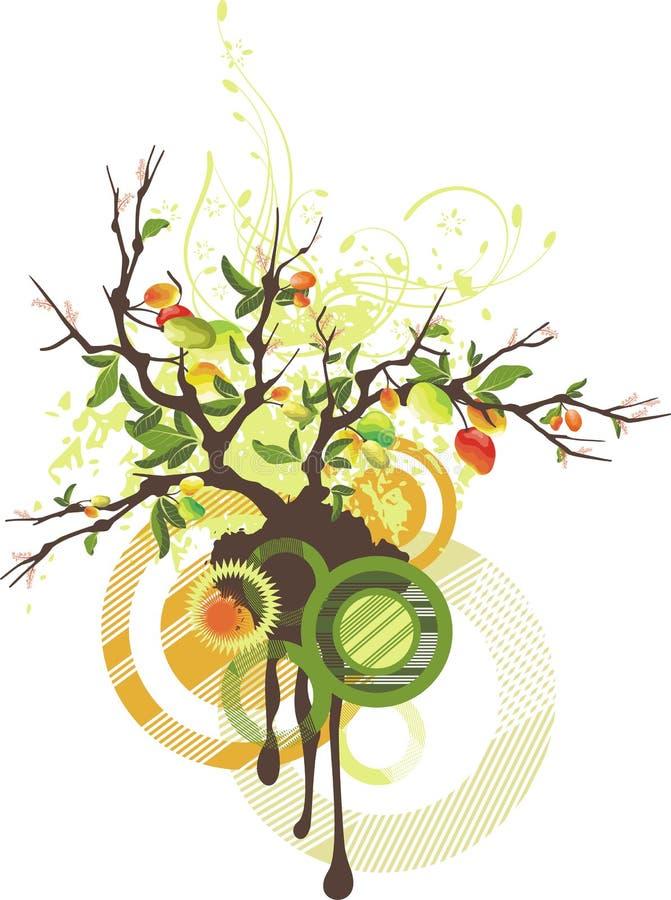 Série de conception florale illustration stock