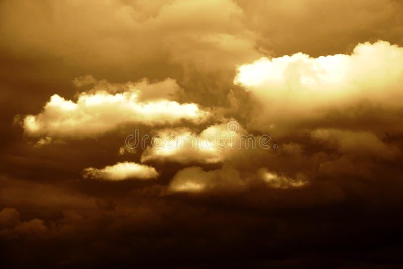 Série de durée de ciel photos stock