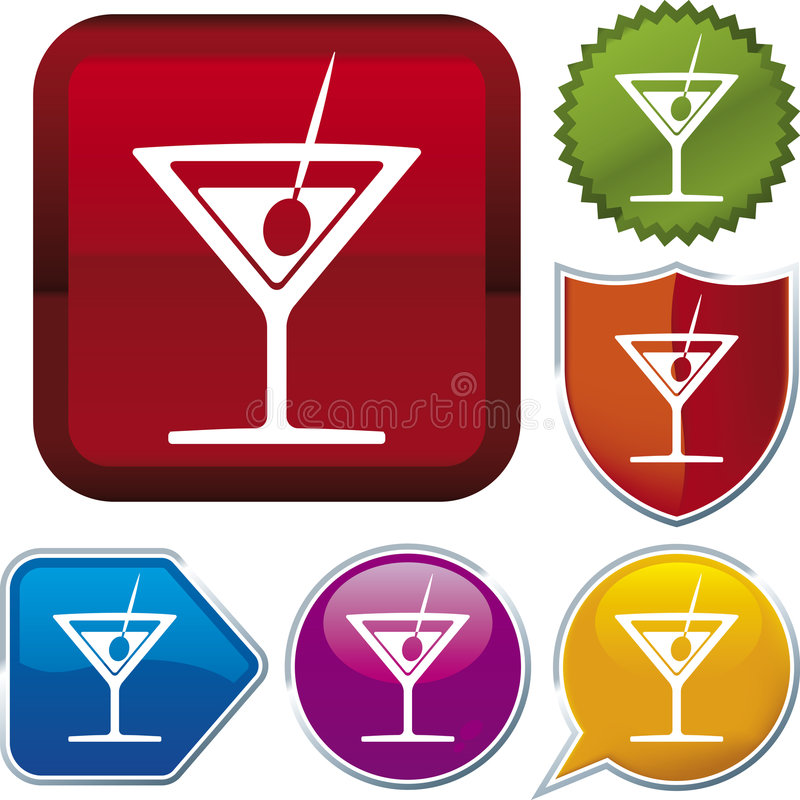 Série de graphisme : boisson illustration libre de droits