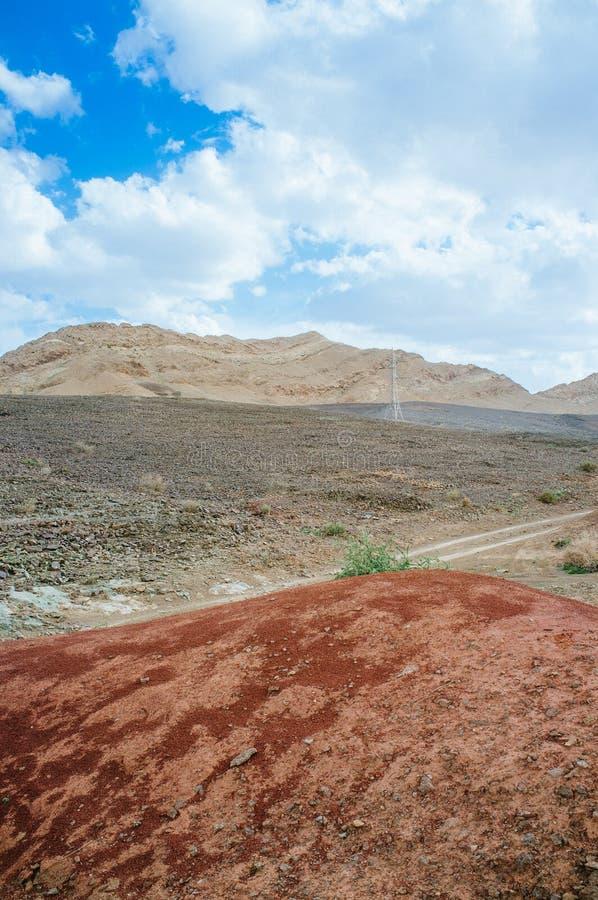 Série de Holyland - Ramon Crater Makhtesh - jante 3 de Soutern photographie stock