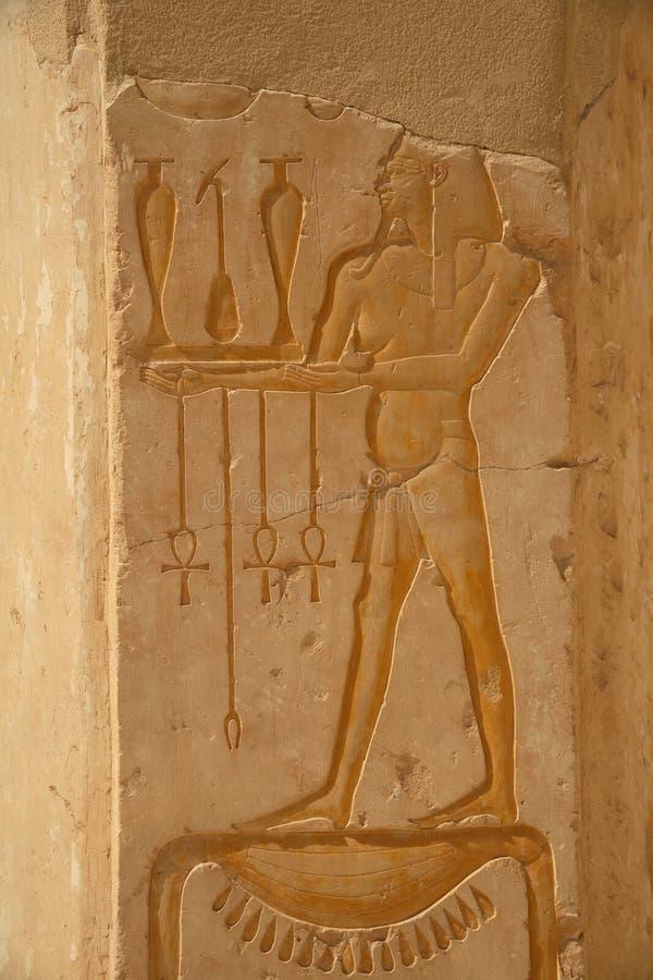 Série de l'Egypte (Hatshepsut Hiero images libres de droits