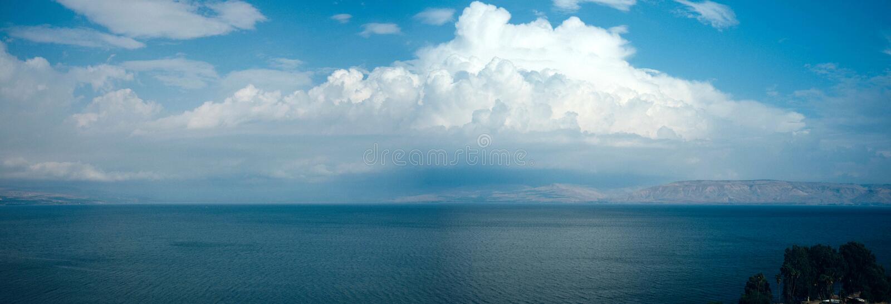 Série de la Terre Sainte - mer de Galilee#1 images stock