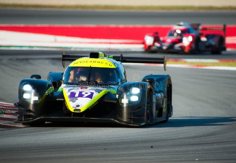 Série de Le Mans do europeu - 4Hours de Barcelona fotos de stock royalty free