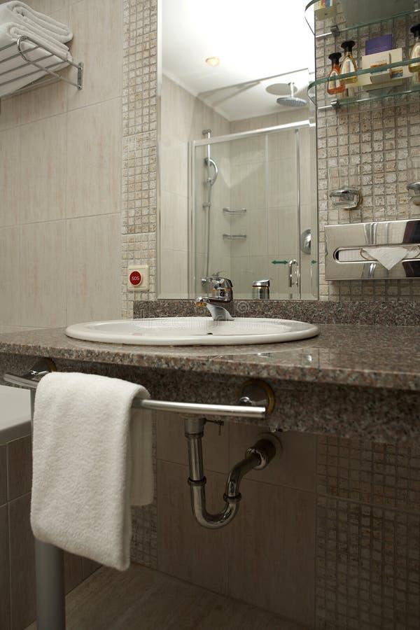 Série de salle de bains images stock