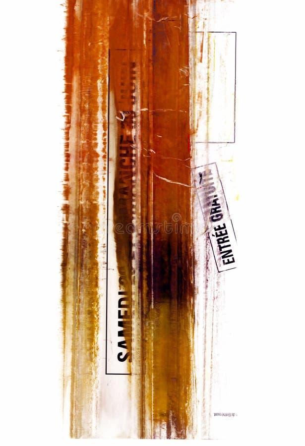 Série de texture de peinture de poudres illustration de vecteur
