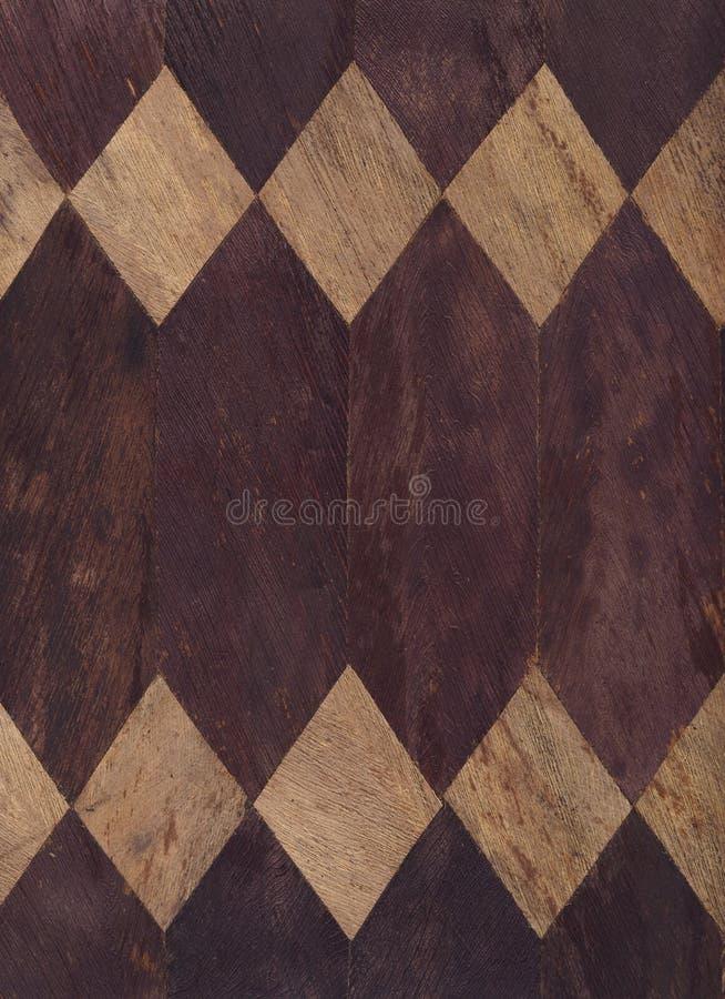 Série de texture - diamants en bois images libres de droits