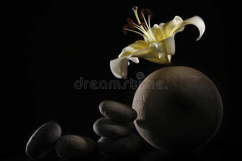 Série de zen image stock