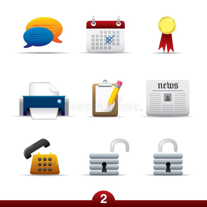 Série do ícone - universal do Web ilustração do vetor