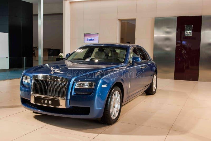 Série do carro de Chongqing Auto Show Rolls-Royce imagens de stock