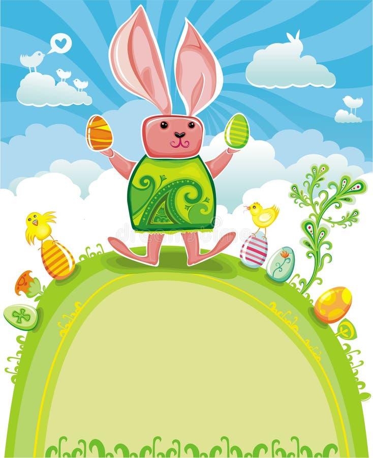 Série do cartão de Easter ilustração stock