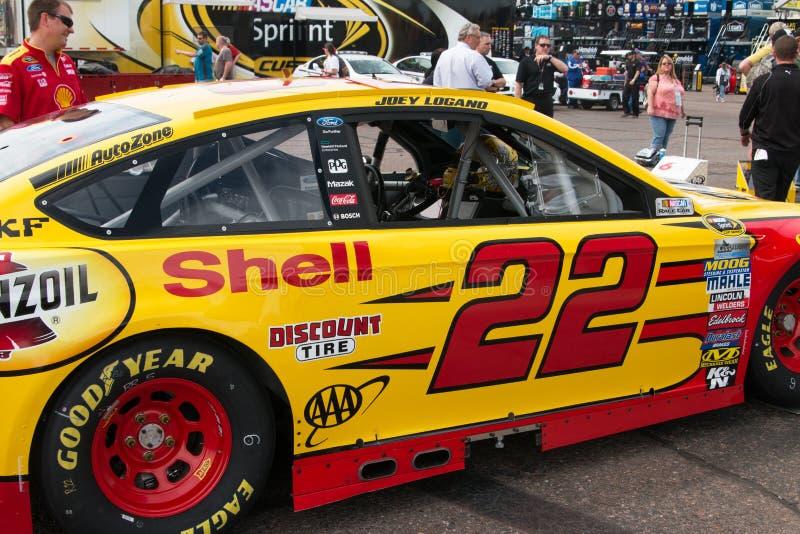 Série do copo da sprint de NASCAR em Phoenix foto de stock