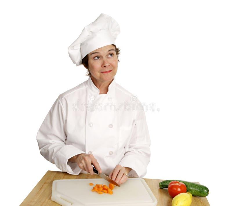 Série do cozinheiro chefe - imaginação fotos de stock