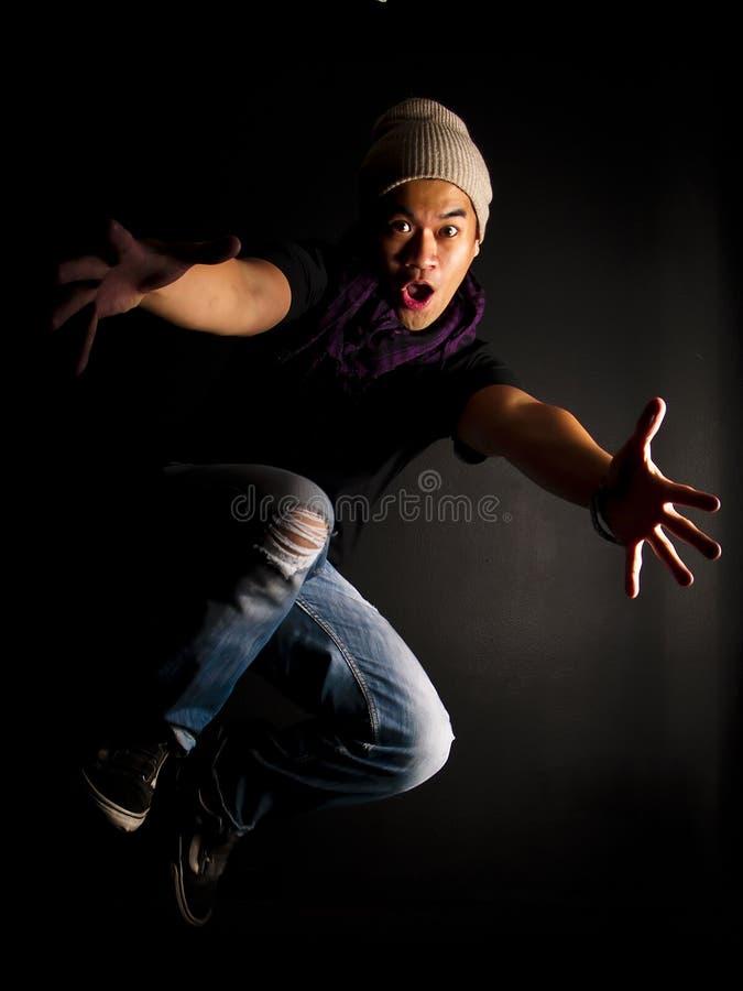 Série do dançarino do lúpulo do quadril imagens de stock royalty free