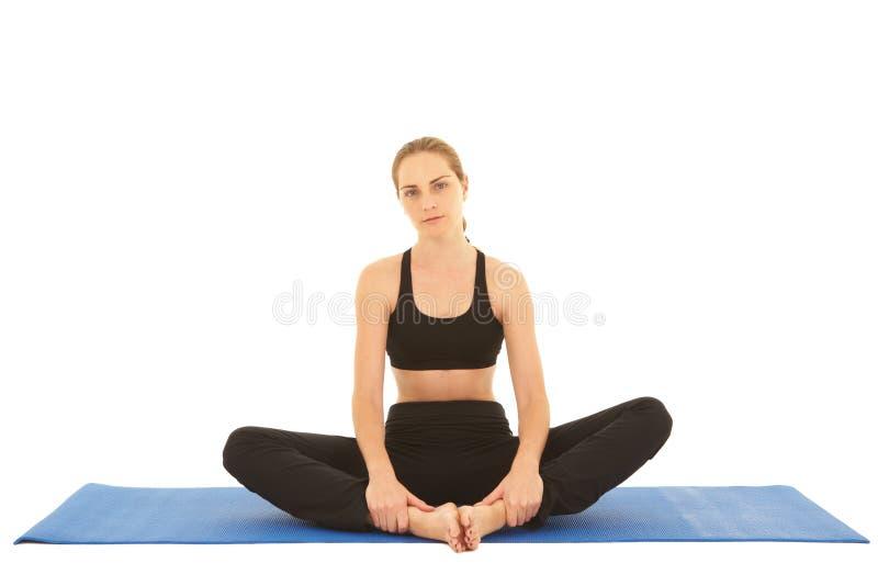 Série do exercício de Pilates foto de stock royalty free
