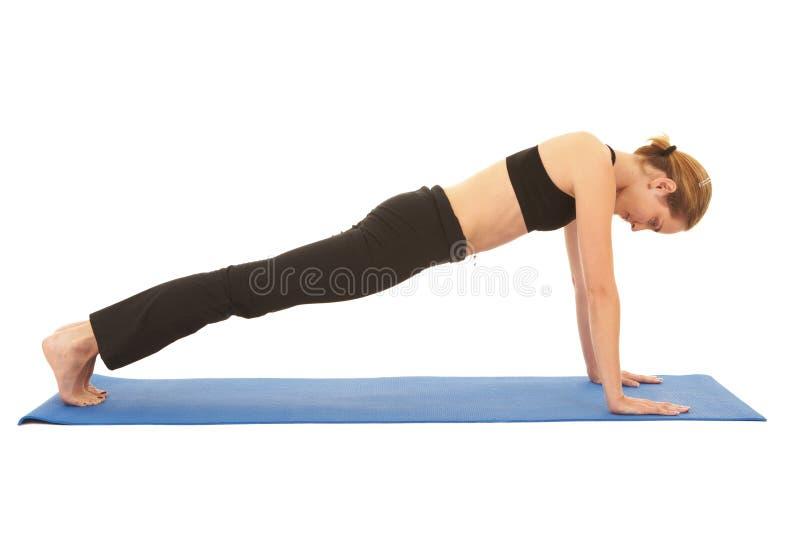 Série do exercício de Pilates imagem de stock