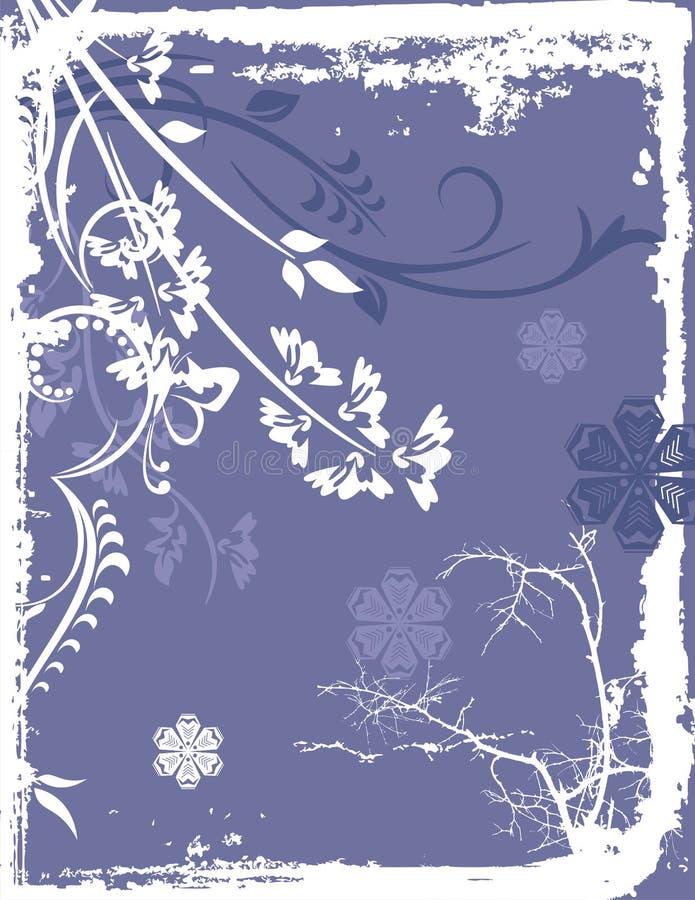 Série do fundo do inverno ilustração stock