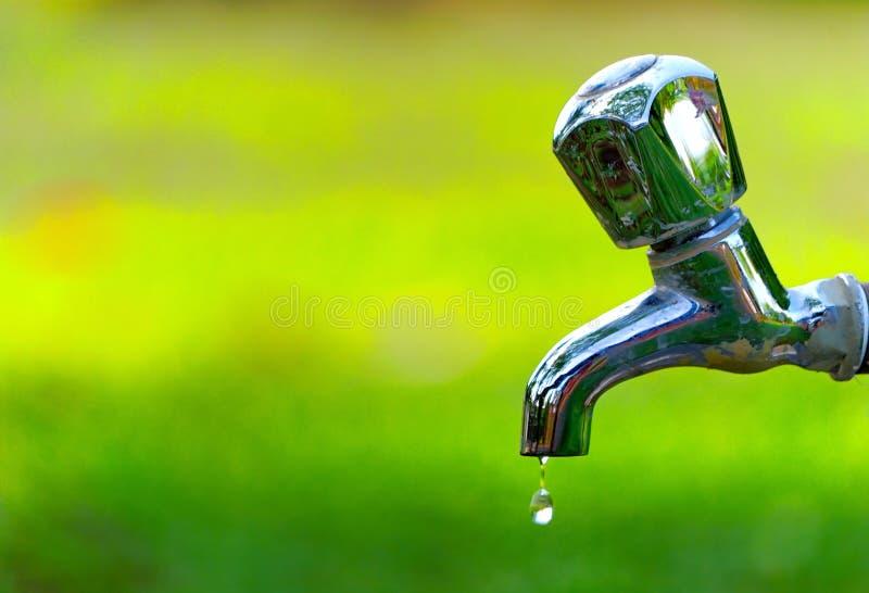 Série do gotejamento da água foto de stock
