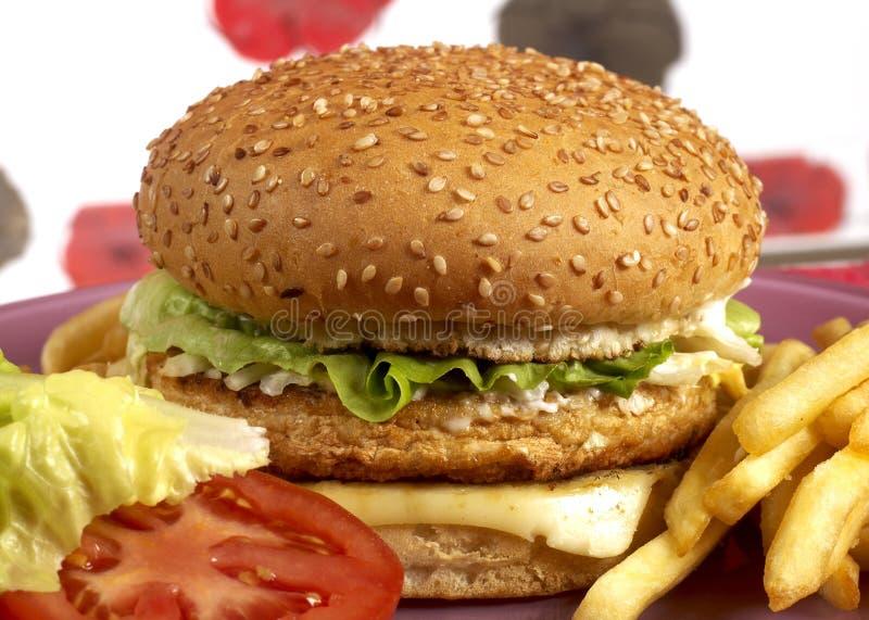 Série do hamburguer imagem de stock royalty free