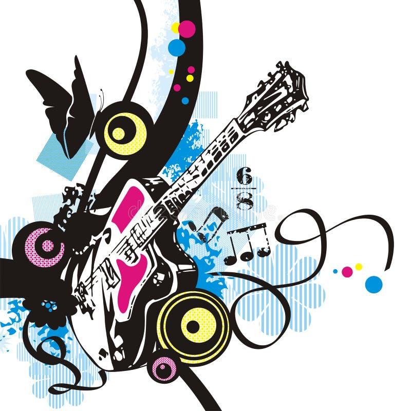 Série do instrumento de música ilustração stock