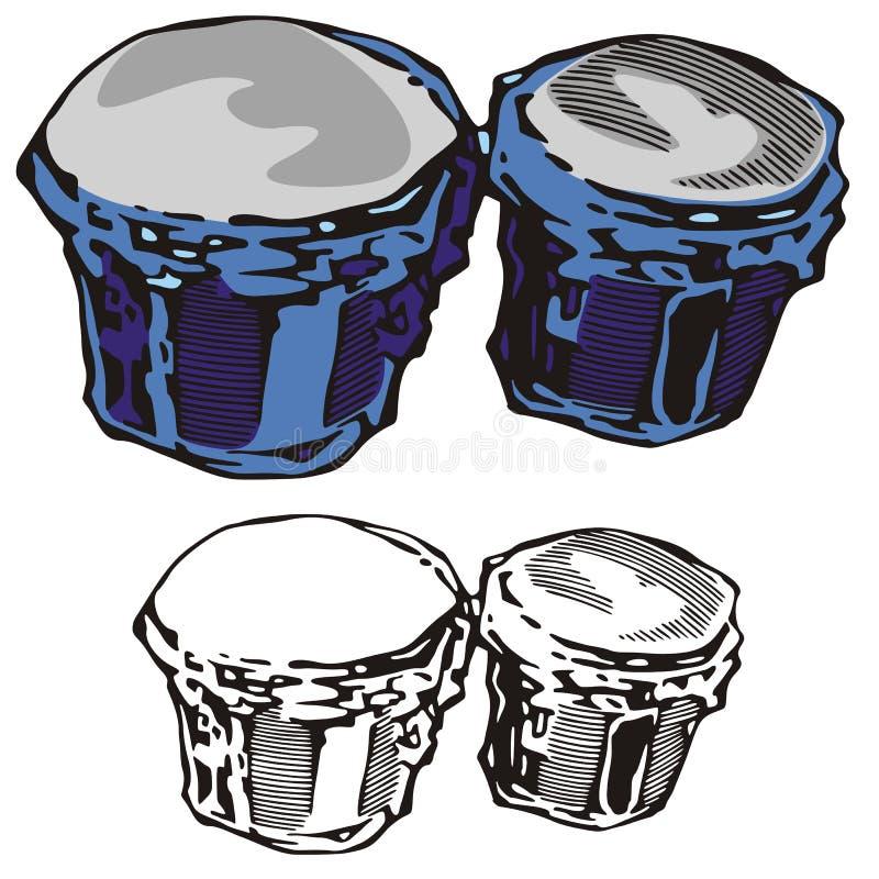 Série do instrumento de música ilustração do vetor