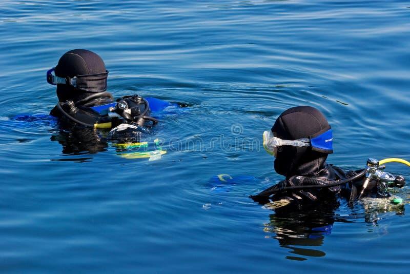 Série do mergulhador foto de stock royalty free