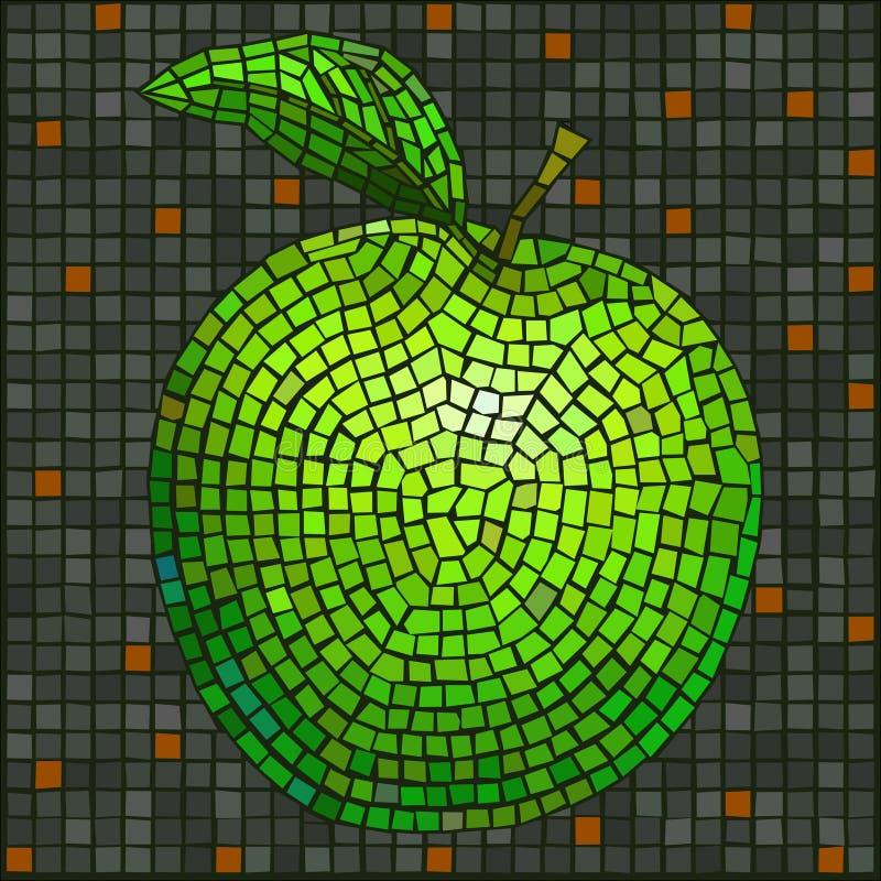 Série do mosaico ilustração stock