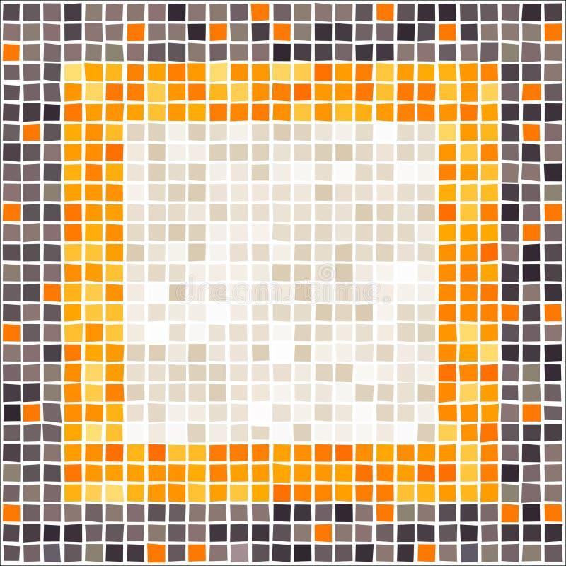 Série do mosaico ilustração royalty free