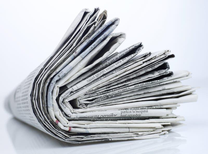 Série dos jornais fotos de stock royalty free