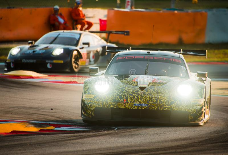 Série du Mans d'Européen - 4Hours de Barcelone photo stock
