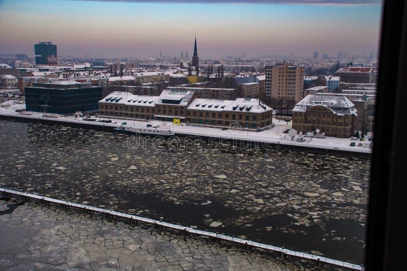 Série em Berlim no tempo de inverno 7 fotografia de stock royalty free