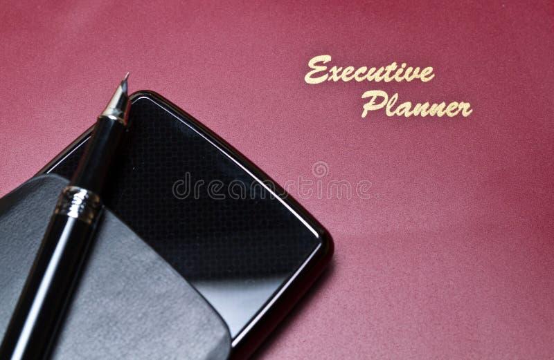 Série executiva II do planejador fotos de stock
