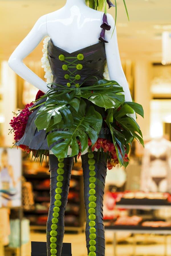 Série florale de mannequin photo stock