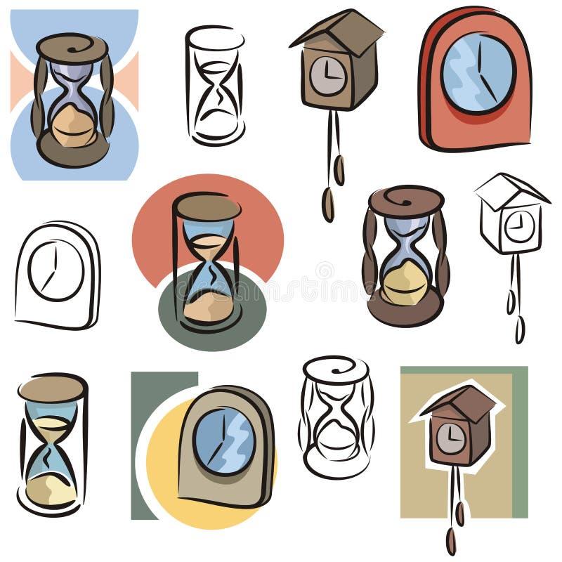 Série fraîche d'objet illustration de vecteur