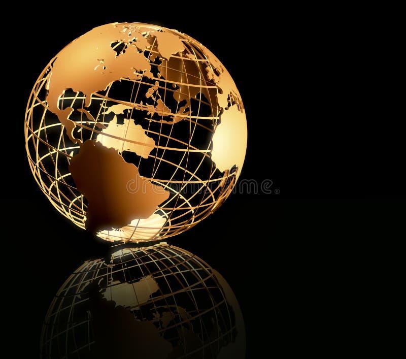 Série global ilustração do vetor