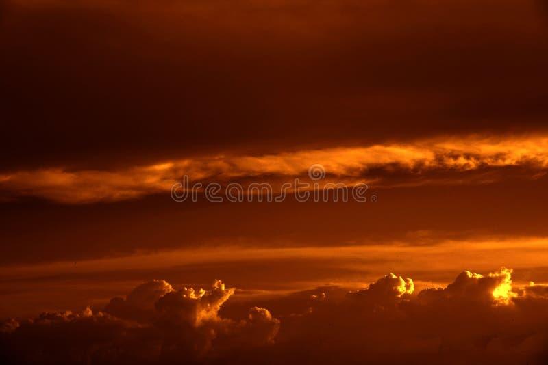 Série III de durée de ciel image libre de droits